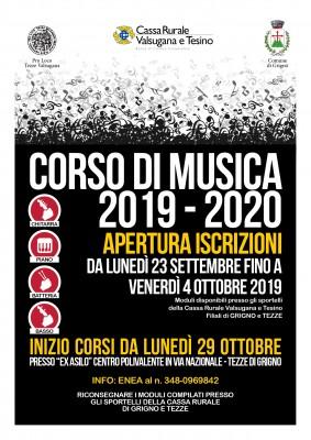 CORSO DI MUSICA 2019-2020